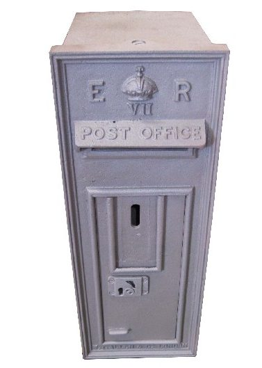 SQUARE POSTBOX BLASTED CUT OUT
